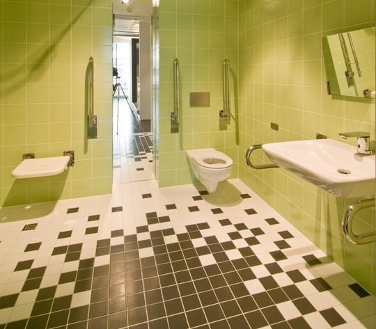 bezbarierova koupelna