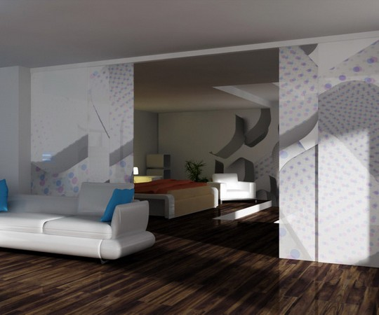 3D tapeta na stěně