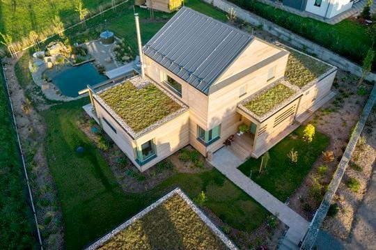 vyuziti zelene strechy