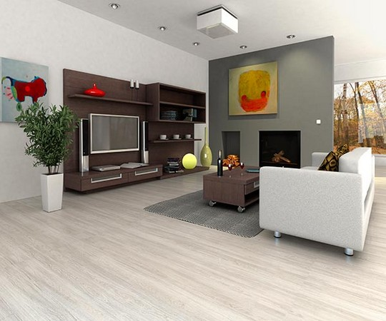 vinylova plovouci podlaha - dekor Kastan beleny
