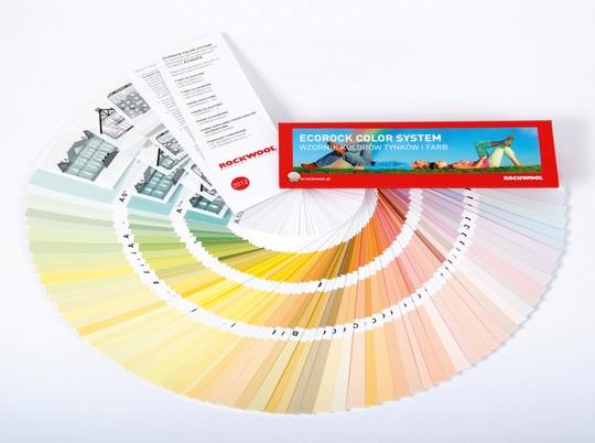 Fasádní paleta barev