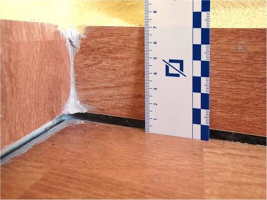 Sedani podlah na velkych vrstvach izolace