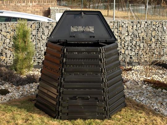 komposter z recyklovaneho plastu