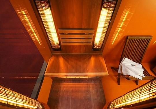 infrazarice v saune