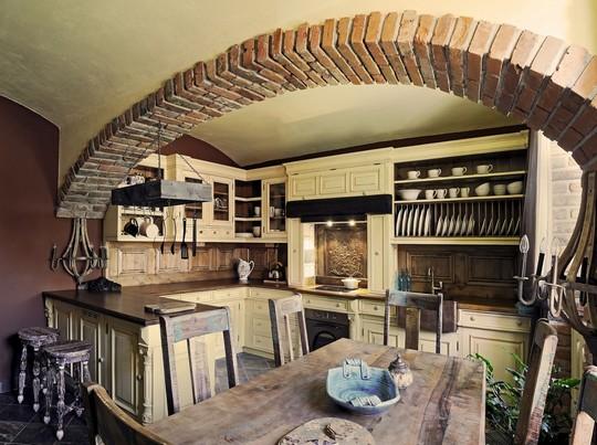 Stylova kuchyne z masivu