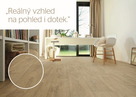 premiovy vinyl Tarkett Touch Crafted Oak Light Natural