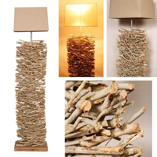designova stojaci lampa YAKONE