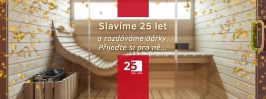 sauny DYNTAR - 25 let