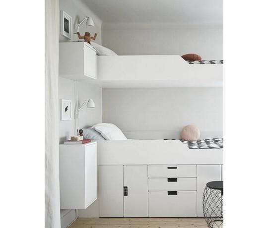 v detskem pokoji nezapoente na dostatak uloznych prostor