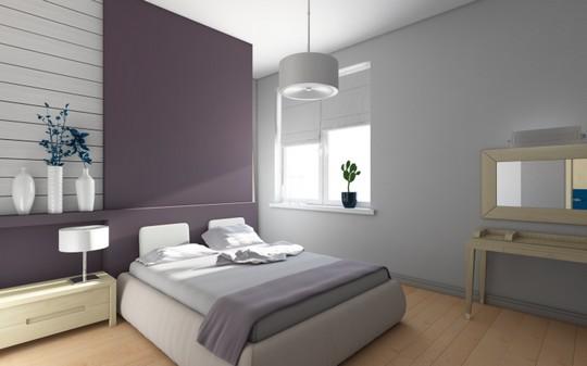 Jakou barvu do malé ložnice