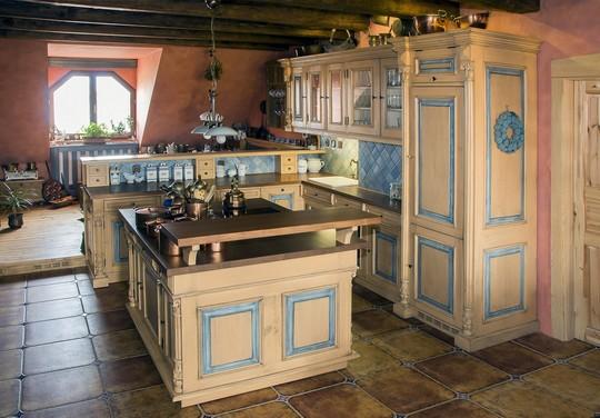 kuchyne ve stylu Provence