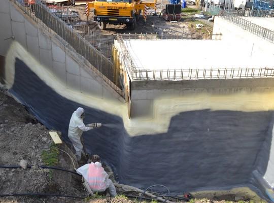 hydroizoace stavby