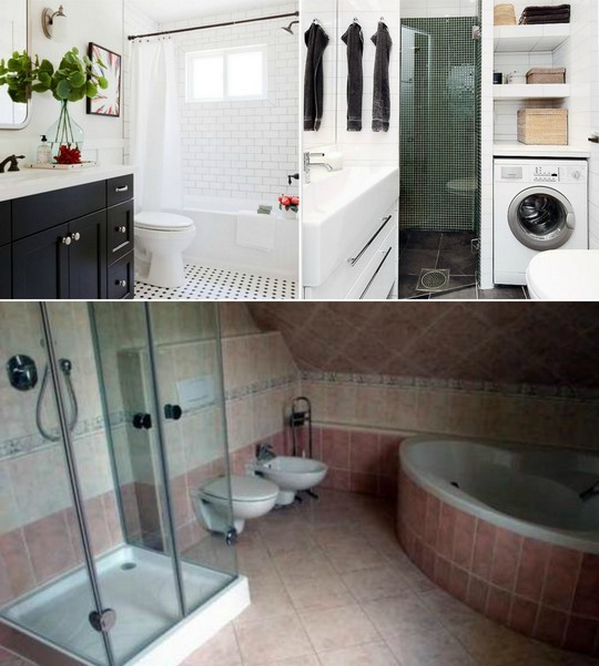 koupelny ruznych stylu