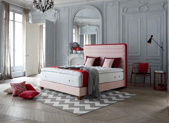Kontinentalni postel Lounge rose