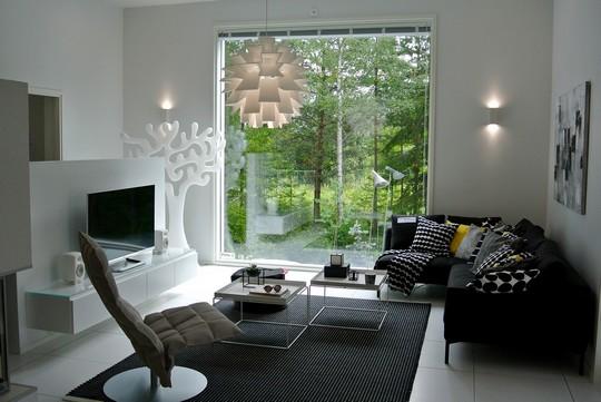Pokoj ve skandinavskem stylu