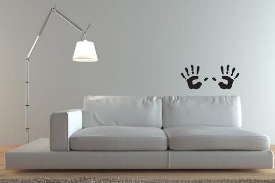samolepka otisky rukou