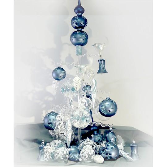 kolekce vanocnich ozdob Zimni kristal