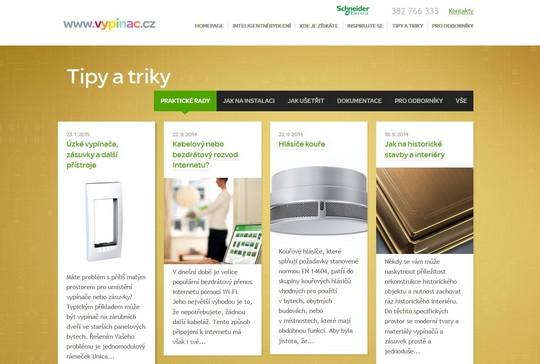 web Vypinac.cz